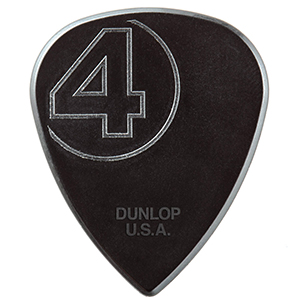 Dunlop 447PJR1.38 Jim Root Signature Nylon Pick 6-Pack