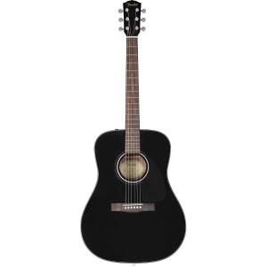 Fender CD-60 Dread V3 w/ Case Black