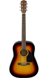 Fender CD-60 Dread V3 w/ Case Sunburst