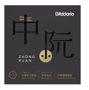 Daddario RUAN01 Zhongruan Strings Medium Tension 16-44