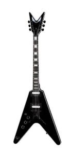 Dean V Select Lefty Classic Black