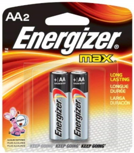 Energizer Max AA - 2 Pack