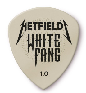 Dunlop 1.0 James Hetfield White Fang Pick - 24 pack