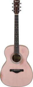 Ibanez Artwood AVC11MHAFP Acoustic Guitar Antique Flamingo Pink
