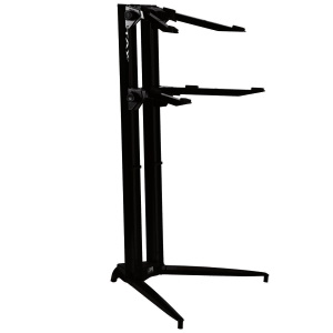 Stay Piano Series 44 Double-Tier Keyboard Stand Black