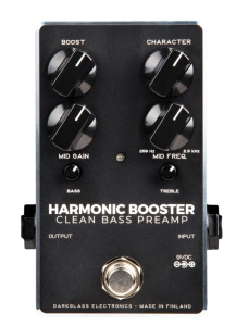 Darkglass Electronics Harmonic Booster Bass Preamp Pedal