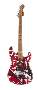 EVH Striped Series Frankie Red White Black Relic *Pre-Order