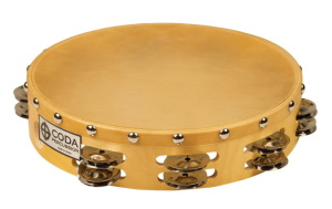 CODA DP-160-10 Double Jingle Tambourine