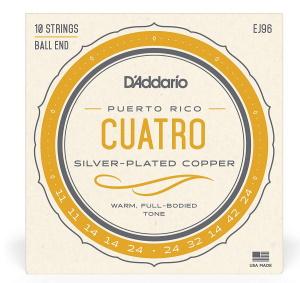 Daddario EJ96 Cuatro-Puerto Rico Set