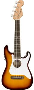 Fender Fullerton Strat Concert A/E Ukulele Sunburst