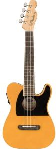 Fender Fullerton Tele Concert A/E Ukulele Butterscotch