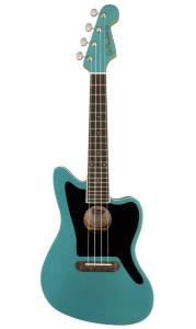 Fender Fullerton Jazzmaster Ukulele A/E  Tidepool