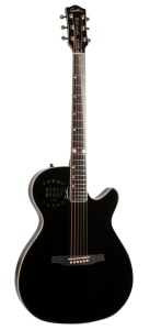Godin Doyle Dykes Signature Edition MultiAc Steel Black
