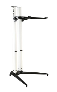 Stay STAY204 Piano Series 44 Single Tier Keyboard Stand White