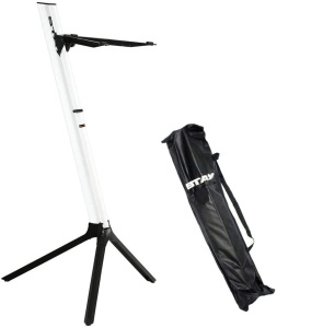 Stay STAY208 Slim Series 43 Single Tier Keyboard Stand White