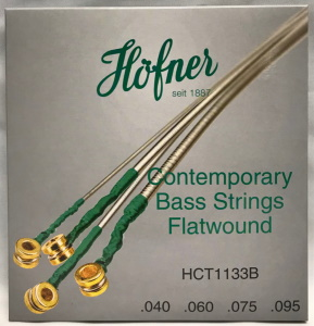 Hofner Contemporary Flatwound Bass Strings  40-95
