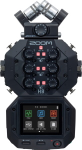 Zoom H8 Portable Handy Recorder