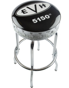 5150 Logo Barstool 30 Inch - Black and White