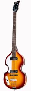 Hofner Ignition Pro Beatle Bass Left Handed Sunburst