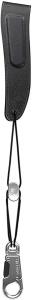 Daddario Alto / Soprano Padded Leather Sax Strap Black