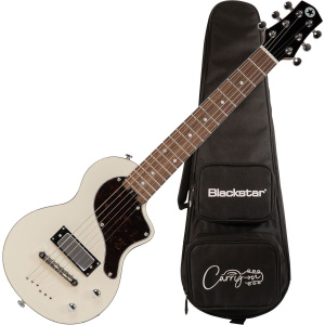 Blackstar Carry-On Electric Travel Guitar w/Gigbag -White