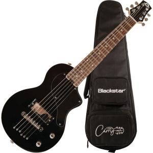 Blackstar Carry-On Electric Travel Guitar w/Gigbag - Black