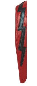 Henry Heller Bolt Series Premium Leather - Red / Black