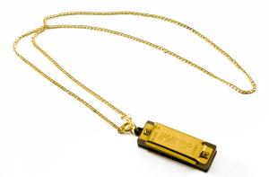 Hohner 37C Mini Harmonica Gold Key of C