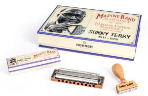 Hohner Sonny Terry Heritage Edition Harmonica - C