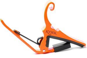 Kyser 6-String Capo - Neon Orange