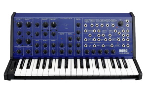 Korg MS-20 FS Monophonic Synthesizer - Blue