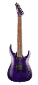 ESP SH-207FM See Thru Purple/Roasted Jatoba-