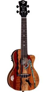 Luna Guitars Vista Stallion Concert Ukulele