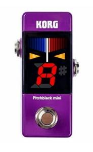 Pitchblack Mini Pedal Tuner Purple