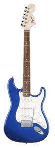 Affinity Stratocaster® - Metallic Blue - Rosewood