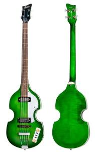 Hofner Ignition Pro Beatle Bass Green Burst