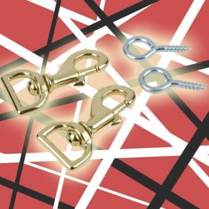 EVH Strap Clasps w/Eye Hooks