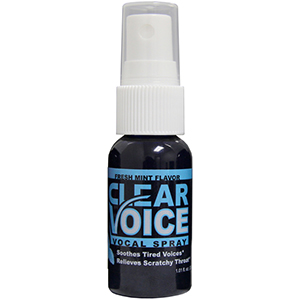 Clear Voice Vocal Lubricant - 1 Bottle Fresh Mint []