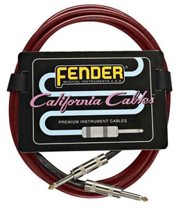 California Cable™ - Candy Apple Red 10 Foot