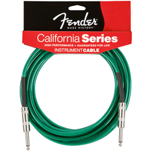 Fender California Cable™ - Surf Green 10 Foot [0990410057]