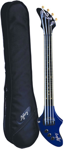 DeArmond Ashbory Bass - Moon Blue Finish []