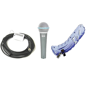 Vocal Acoustic Monitor Mic Pack