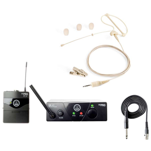 Akg WMS40 Mini Headset Bundle Open Box []