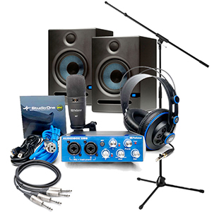 Presonus AudioBox Studio Recording Bundle [AUDIOBOXSTUDIO]