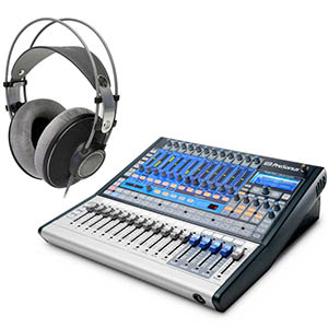 Presonus StudioLive 16.0.2 With AKG K601 Headphones [SL-1602]