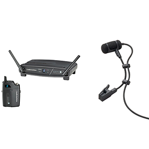 Audio Technica ATW-1101 Digital Wireless Belt Pack System [ATW1101 ATM350cw]