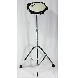 WJM Percussion Practice Pad - 8 Inch with Stand