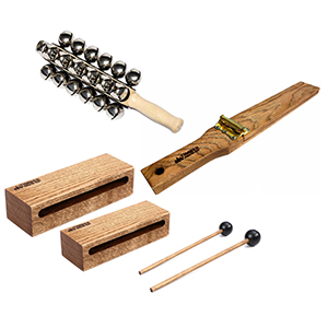 Timber Drum Company Sleigh Ride Percussion Pack