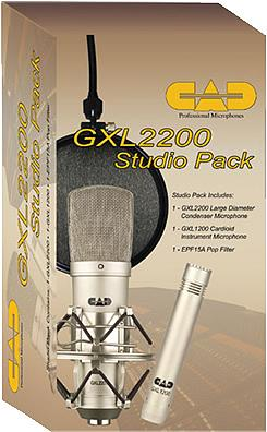 CAD GXL2200 Studio Pack