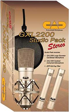 CAD GXL2200 Studio Pack Stereo